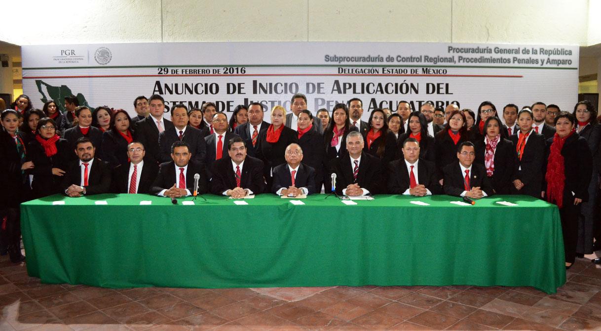 Entra en vigor el Nuevo Sistema de Justicia Penal Acusatorio en el Edomex.