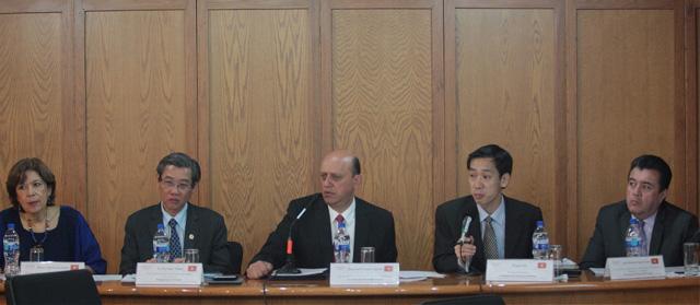 Dan a conocer a los delegados vietnamitas los alcances de la Cruzada Nacional Contra el Hambre