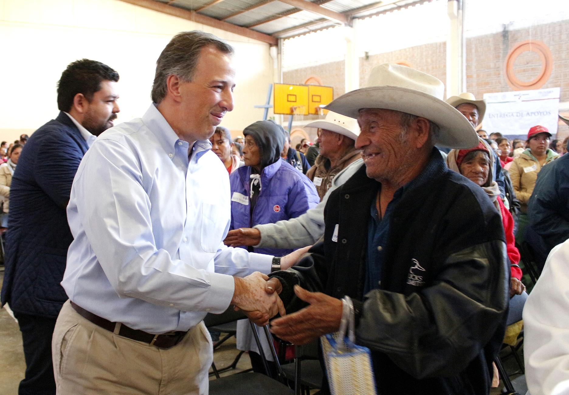 El secretario de Desarrollo Social, acompañado por el gobernador Juan  Manuel Carreras López, llevó a cabo una gira de trabajo por San Luis Potosí