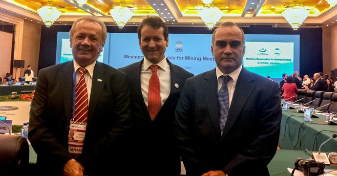 La Secretaría de Economía participó en la Reunión de Ministros de Minería de APEC en China
