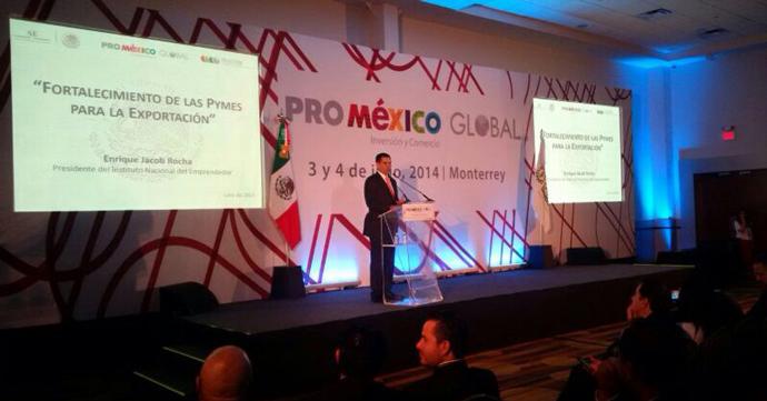PyMEs, vitales para fortalecer la exportación en México: INADEM