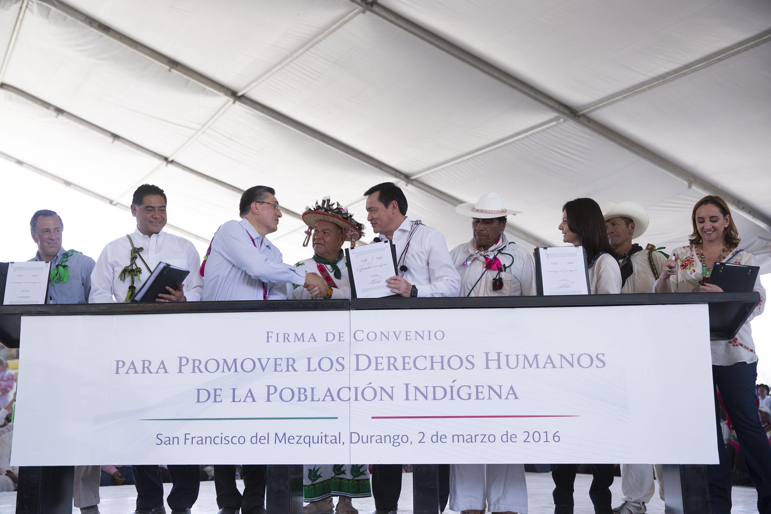 El Gobierno de la República trabaja por la igualdad y la equidad de toda la población para que tengan las mismas oportunidades, afirmó el Secretario de Gobernación, Miguel Ángel Osorio Chong.