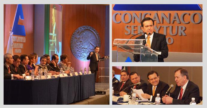 Participa el Secretario de Economía en reunión nacional de la CONCANACO SERVYTUR