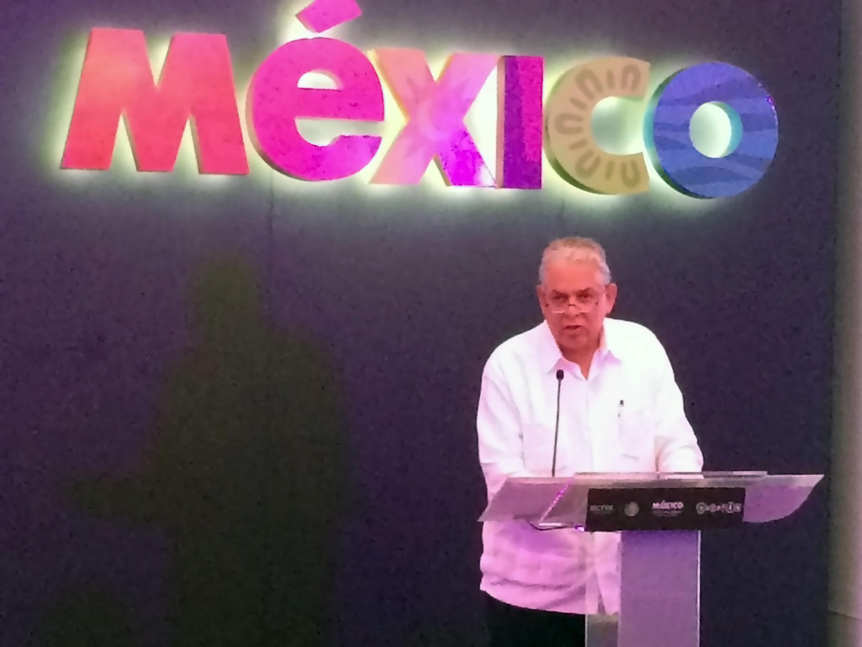 Salvador Sánchez Estrada, subsecretario de Planeación y Política Turística, inauguró la Reunión de Planeación Estratégica 2015
