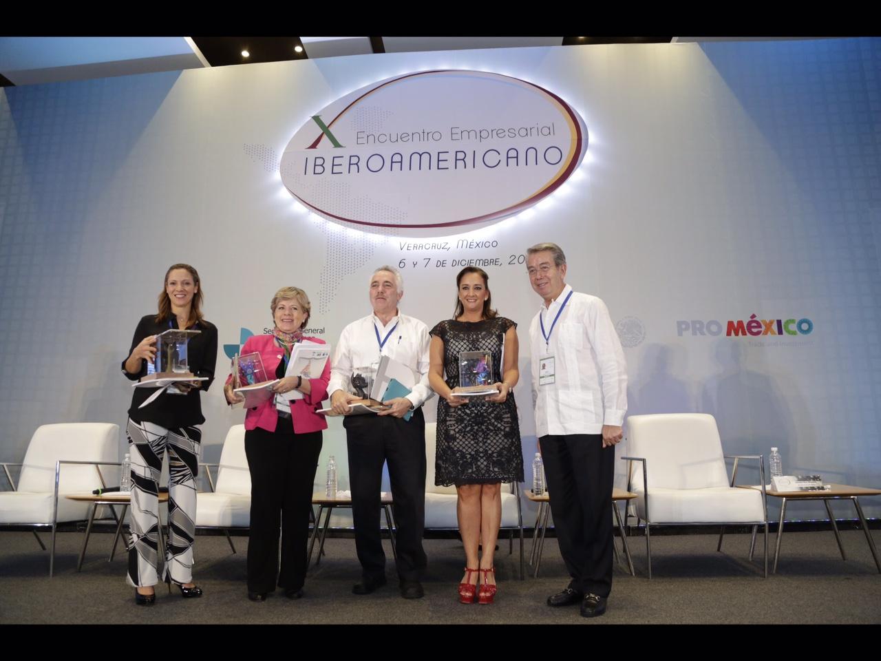 La Secretaria de Turismo en el X Encuentro Empresarial Iberoamericano.