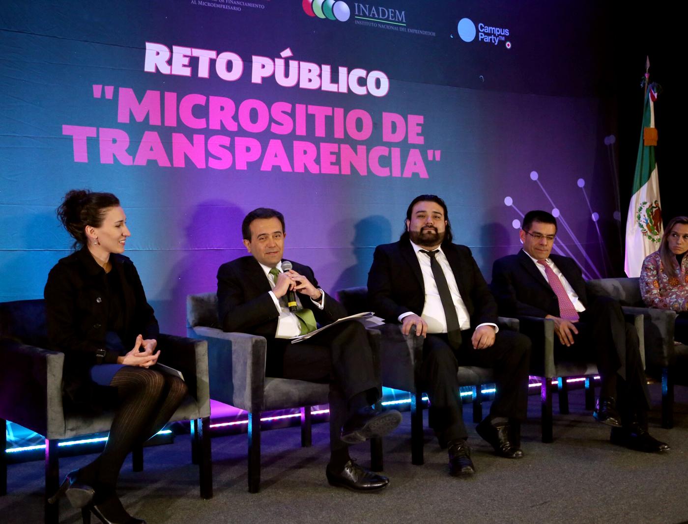 """Reto Público: """"Micrositio de Transparencia"""""""