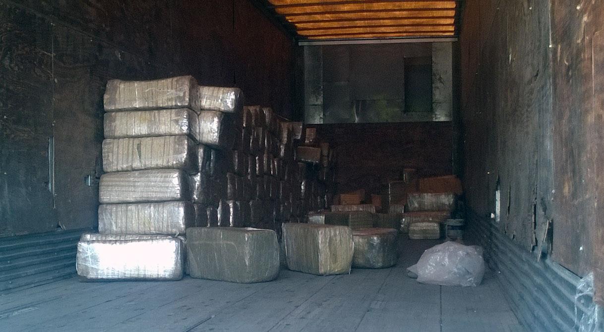 PGR Jalisco inicia averiguación previa por el aseguramiento de más de dos toneladas de marihuana