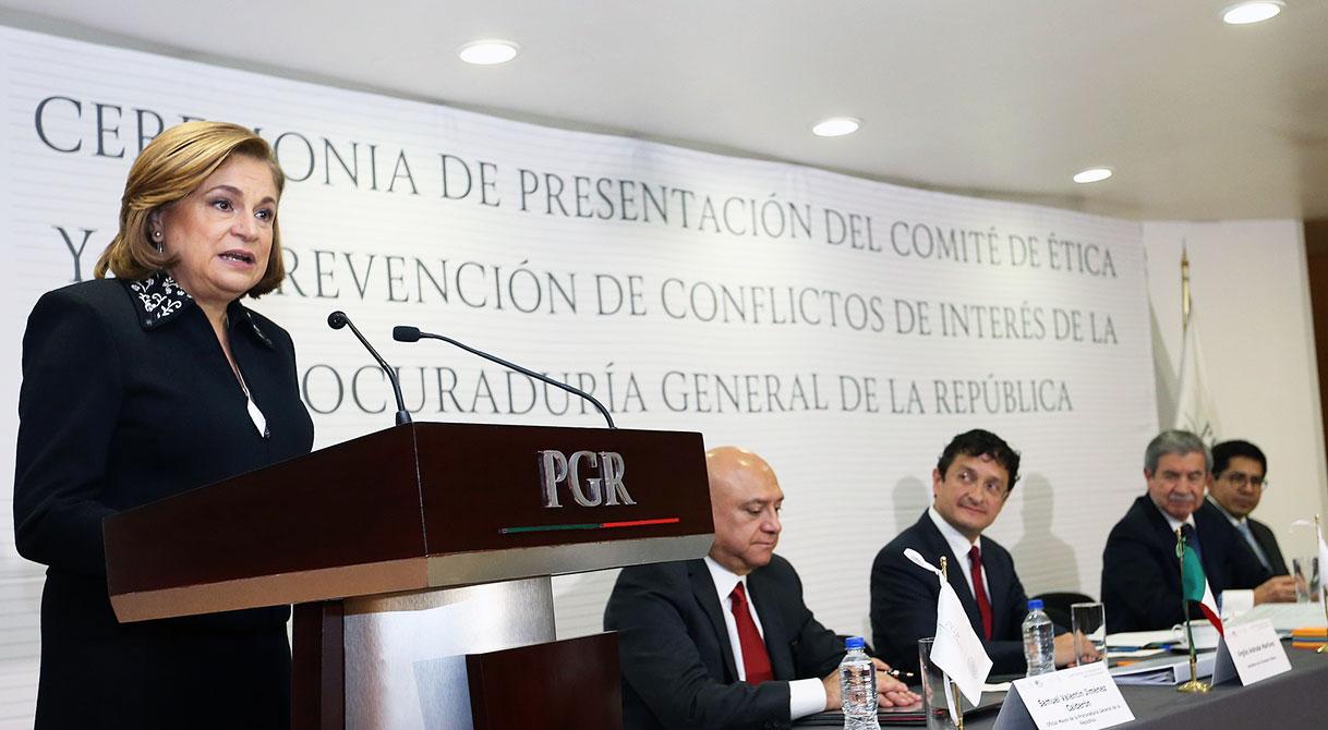 Instala PGR nuevo Comité de Ética y Prevención de Conflictos de Interés.