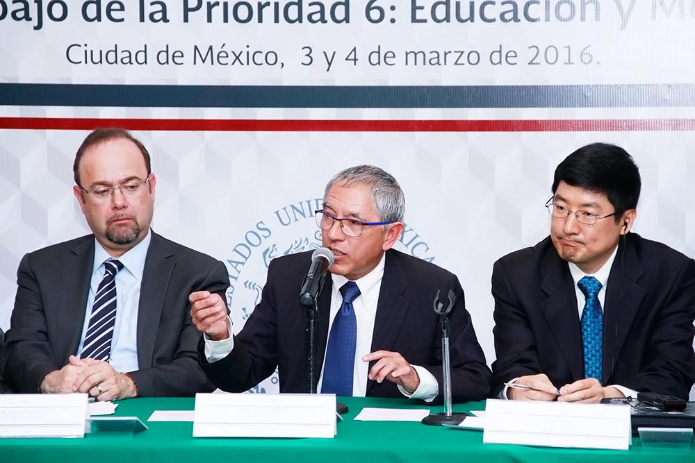 Reunión de trabajo Educación y Mercado Laboral