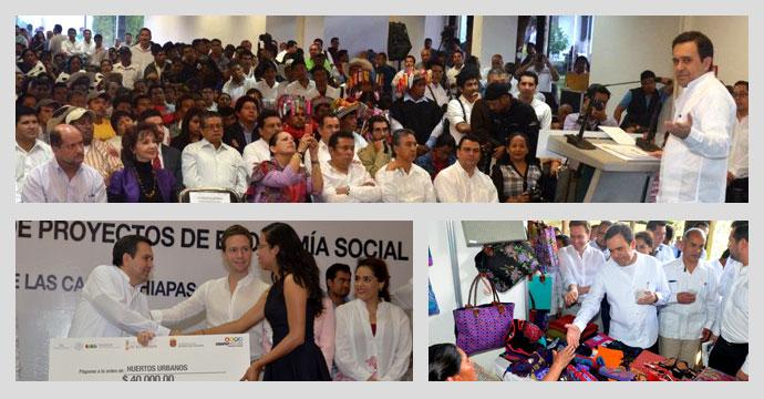 El Secretario de Economía realizó gira de trabajo a San Cristóbal de las Casas, Chiapas