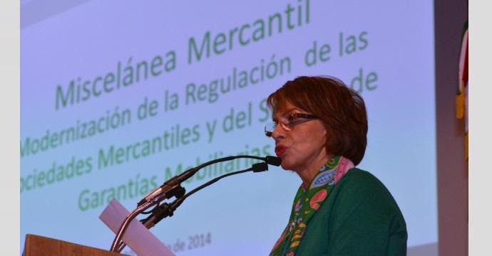 """La Subsecretaria Rocío Ruiz Chávez inauguró el Foro """"Miscelánea Mercantil"""""""