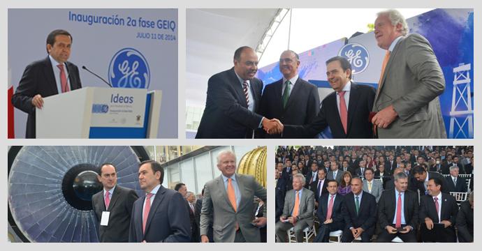 Inauguró el Secretario de Economía campus de ingeniería de General Electric en Querétaro