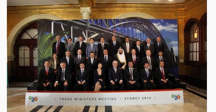 Culmina participación del Secretario de Economía en Reunión de Ministros de Comercio del G-20