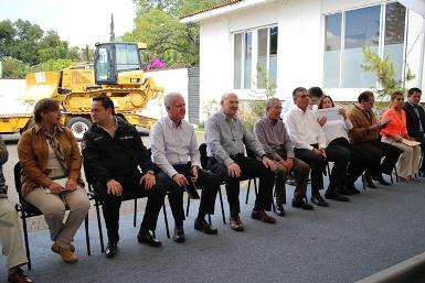 Entrega de Inventario Forestal a Michoacán.