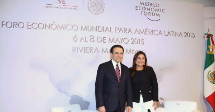 El Foro Económico Mundial para América Latina se realizará en Mayo próximo en la Riviera Maya