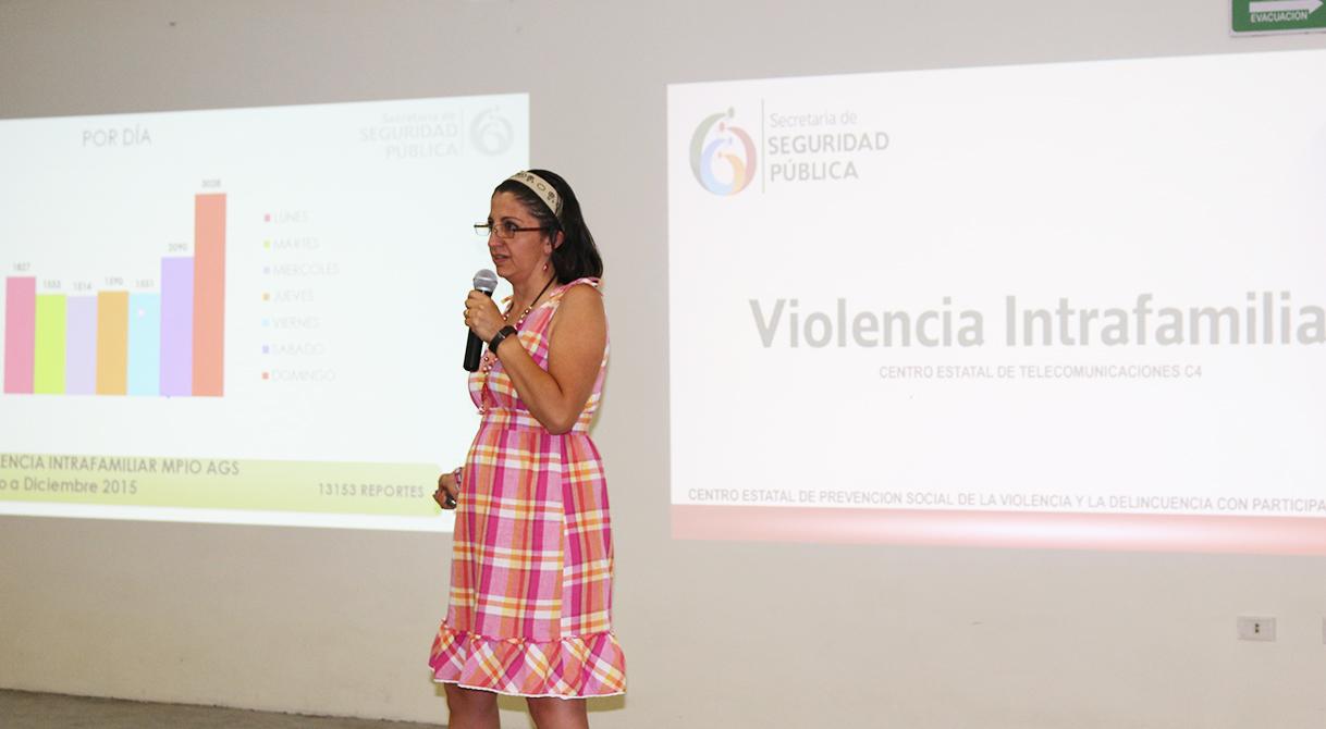 PGR prepara entorno al tema de violencia intrafamiliar para lograr una mejor prevención del delito.