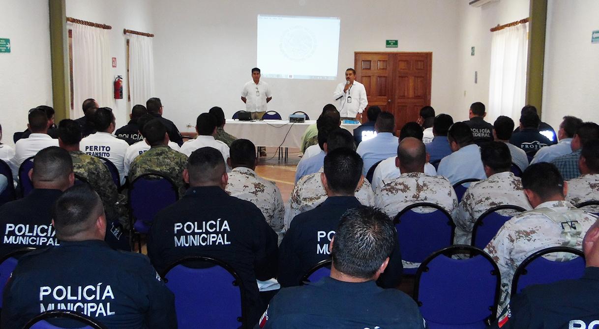 PGR imparte Curso taller de Cadena de Custodia y Primer Respondiente en Loreto y San José del Cabo.