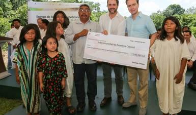 Se entregaron recursos por más de seis millones de pesos para actividades de conservación y restauración.