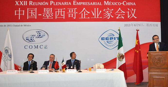 Participa el Secretario de Economía en la XXII Reunión Plenaria Empresarial México-China