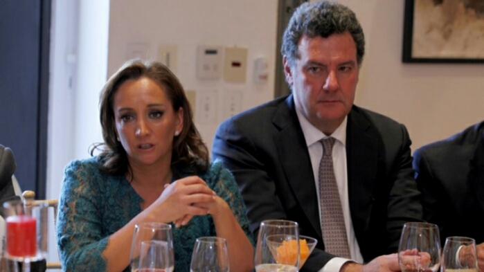 Claudia Ruiz Massieu en la Asamblea General del Consejo Nacional Empresarial Turístico (CNET).