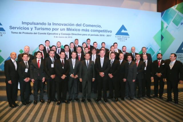 Participa el Secretario de Economía en sesión de la CONCANACO-SERVYTUR