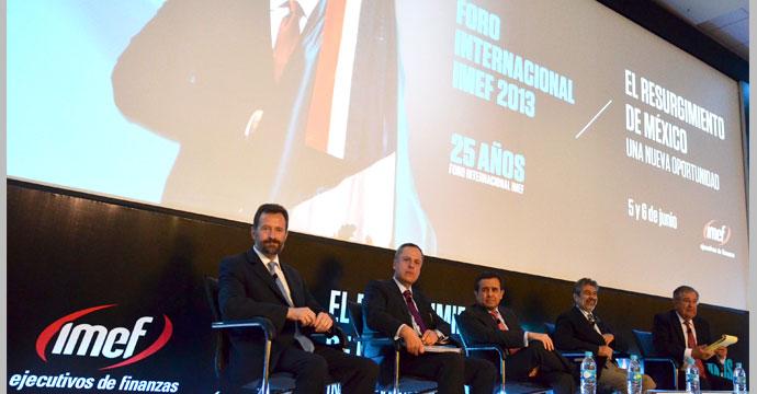 Participó el secretario Ildefonso Guajardo en el XXV Foro Internacional del IMEF