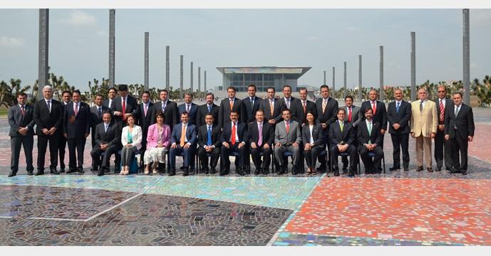 Asiste el Secretario Ildefonso Guajardo Villarreal a la Reunión Nacional de la AMSDE