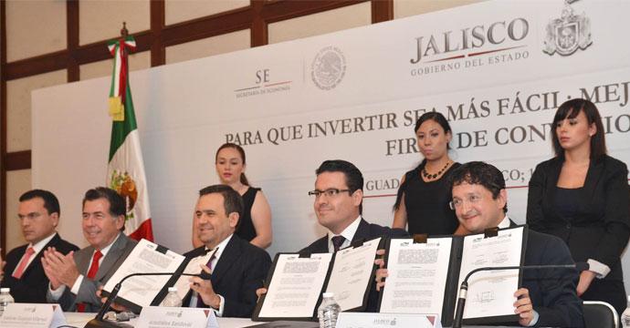 Firman convenio de colaboración Cofemer y el Estado de Jalisco