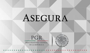 Asegura PGR diversas drogas y vehículos en Nogales, Sonora. Comunicado 350/16
