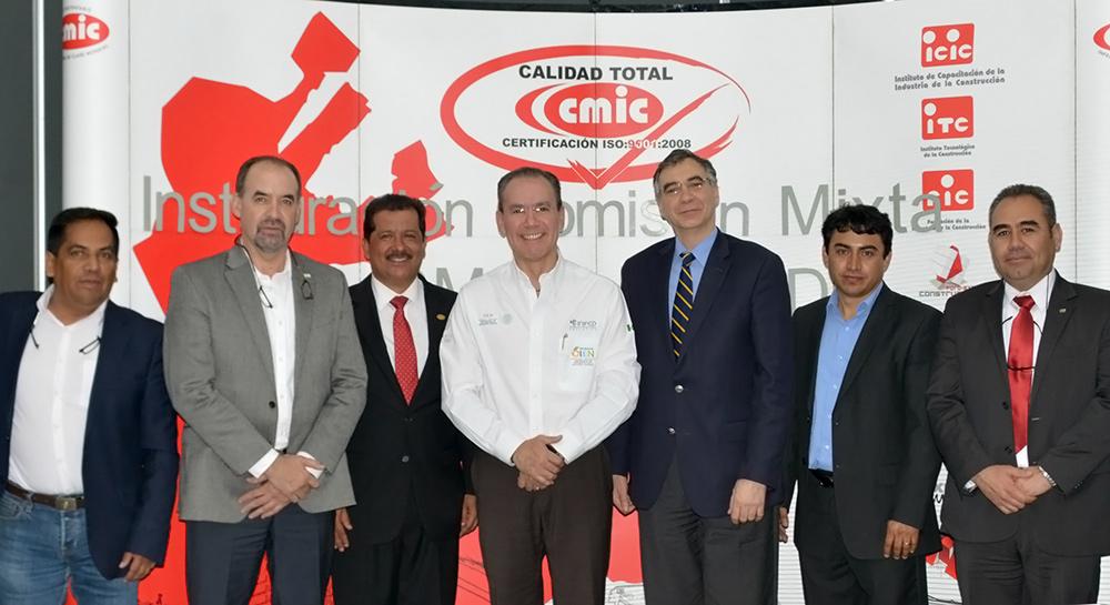 Instalan primera Comisión Mixta CMIC - Inifed