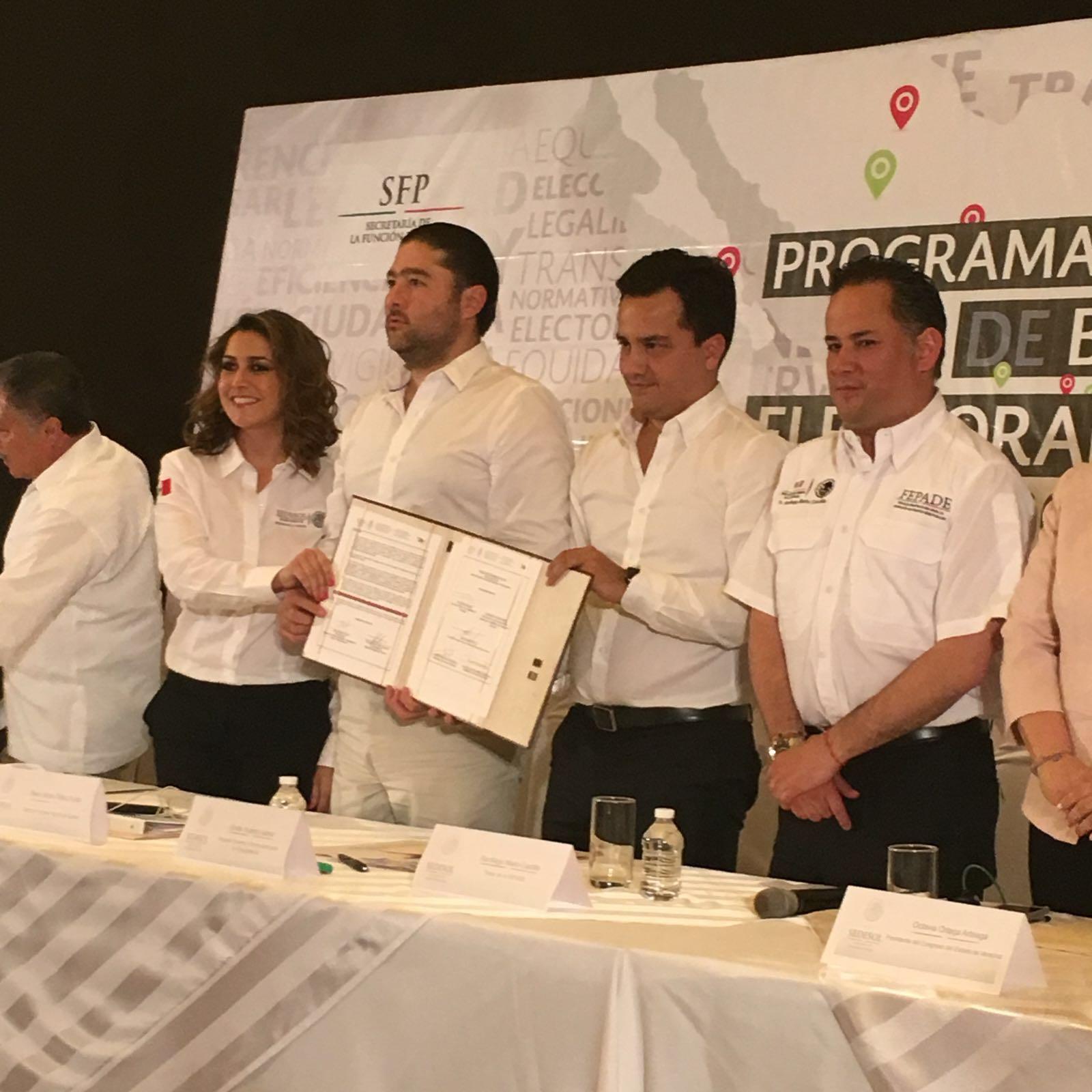 Se instaló el Comité Preventivo de Blindaje Electoral en el estado de Veracruz