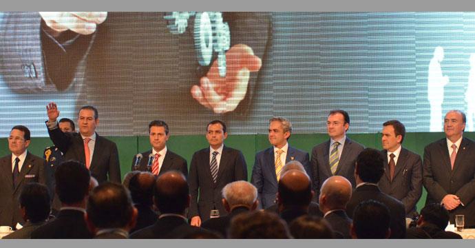 Asiste Ildefonso Guajardo a la XXXI Asamblea del CCE
