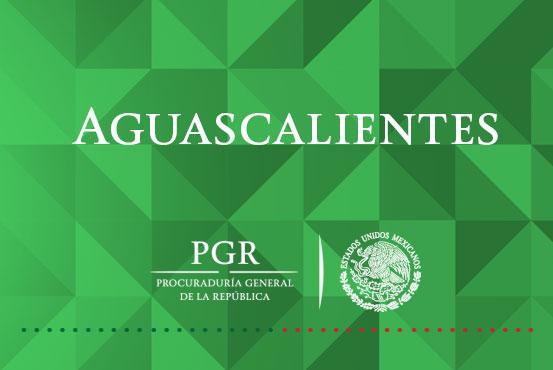 PGR inicia la primera carpeta de investigación con el Nuevo Sistema de Justicia Penal Acusatorio en Aguascalientes.