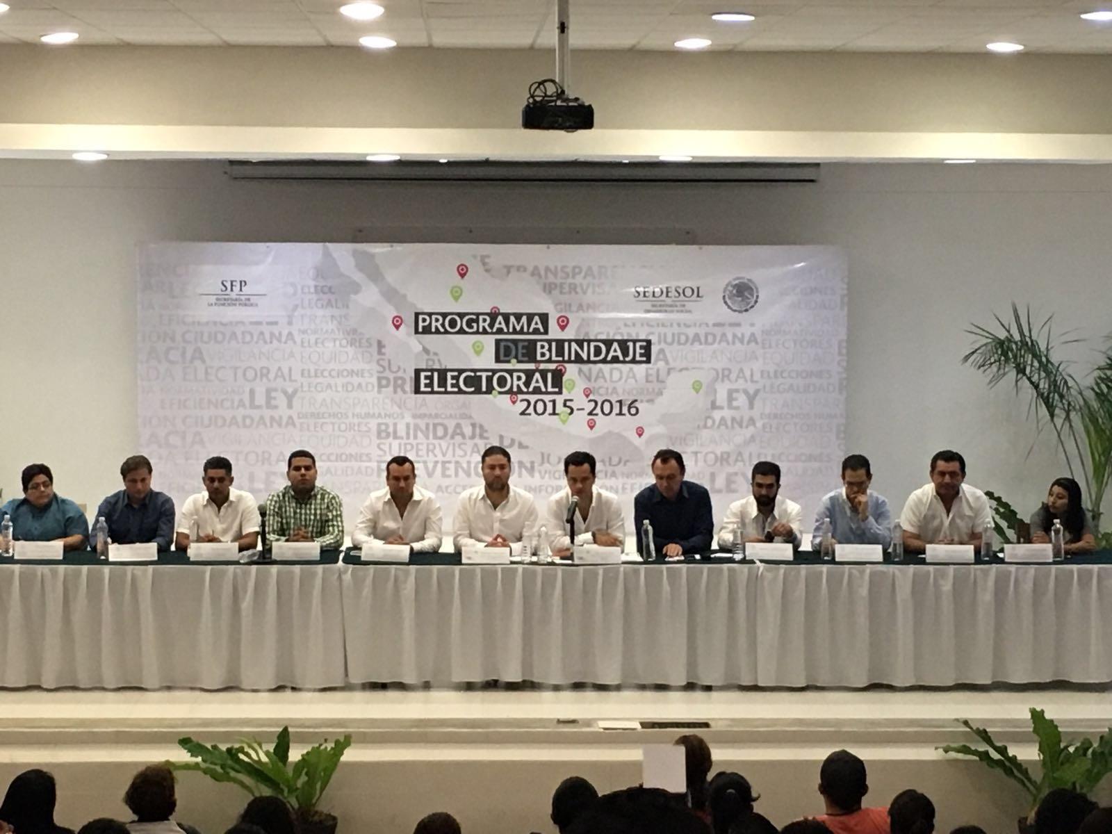 Se suma Quintana Roo a los estados con Comités Preventivos de Blindaje Electoral