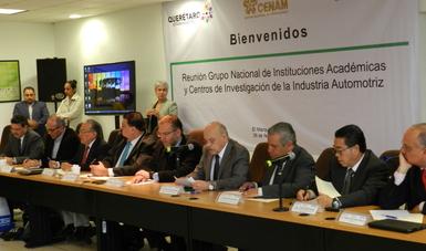 5a. Reunión del Grupo Nacional de Instituciones Académicas y Centros de Investigación de la Industria Automotríz.