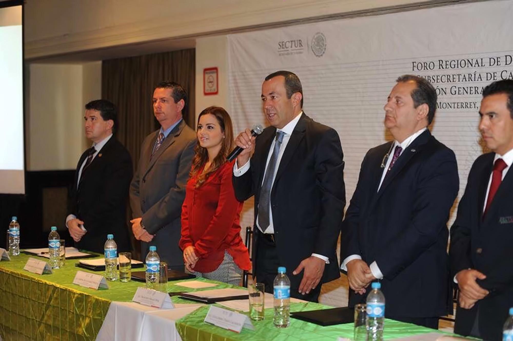 La SECTUR en la Inauguración del Foro Regional de Difusión Zona Norte.