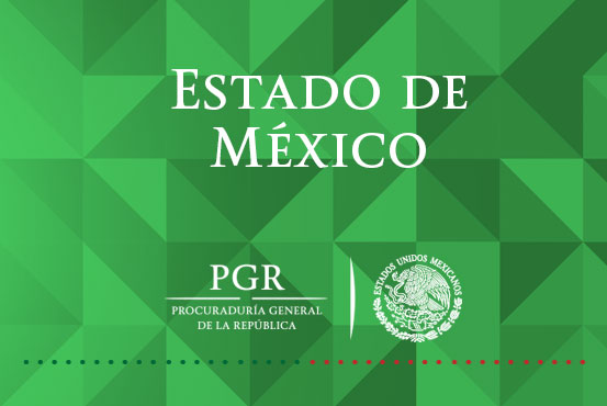 Mediante cateo asegura PGR droga en San Mateo Atenco