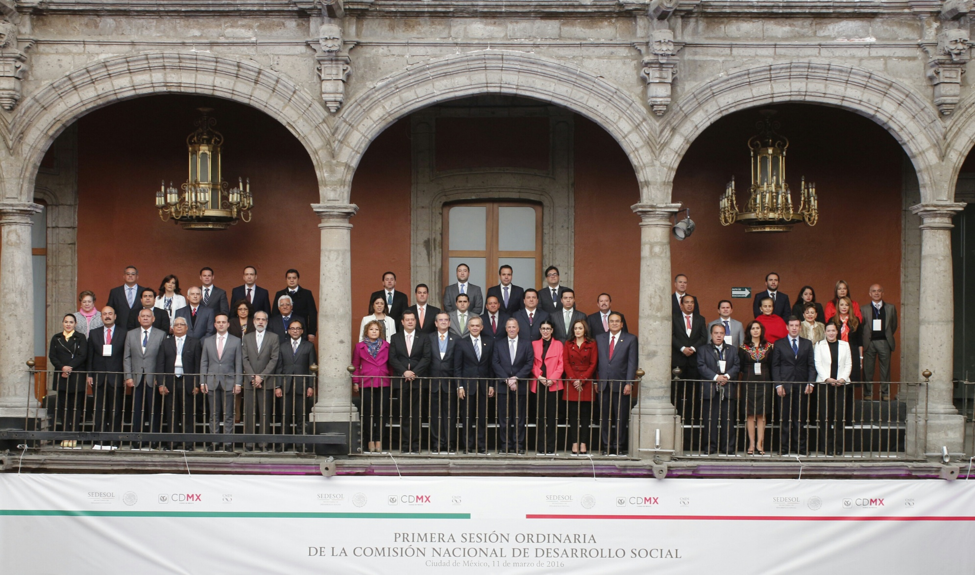 Mensaje del Srio. José A. Meade, en el marco de la inauguración de la 1era. Sesión Ord. 2016 de la Comisión Nacional de Desarrollo Social
