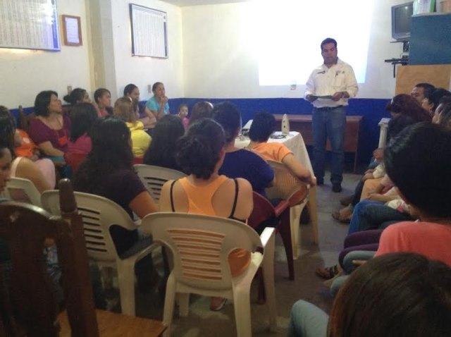 Sedesol- Zacatecas en el Cerereso Femenil de Cieneguillas  prerregistra a  internas al Programa Seguro de Vida para Jefas de Familia