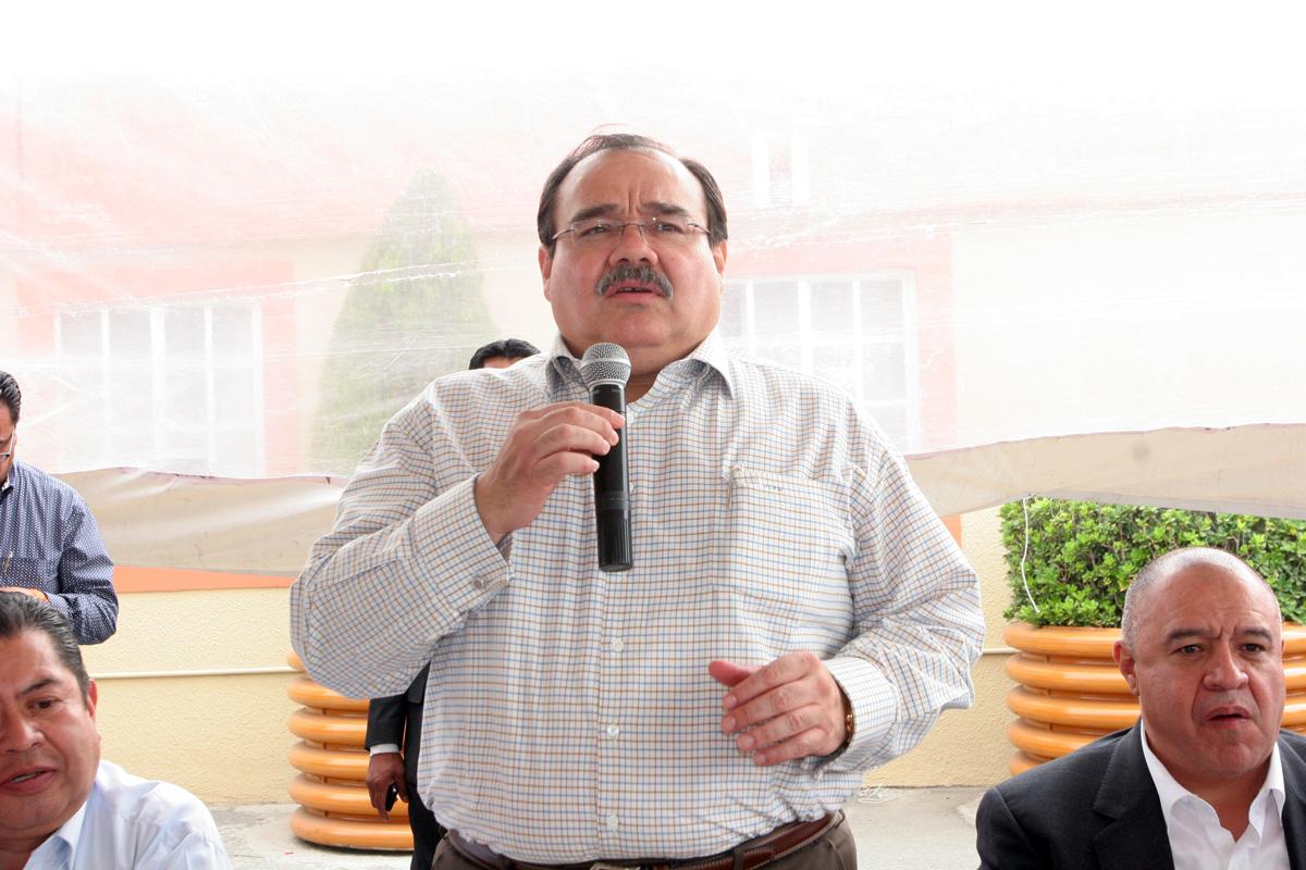 Secretario de Desarrollo Agrario, Territorial y Urbano, Jorge Carlos Ramírez Marín.