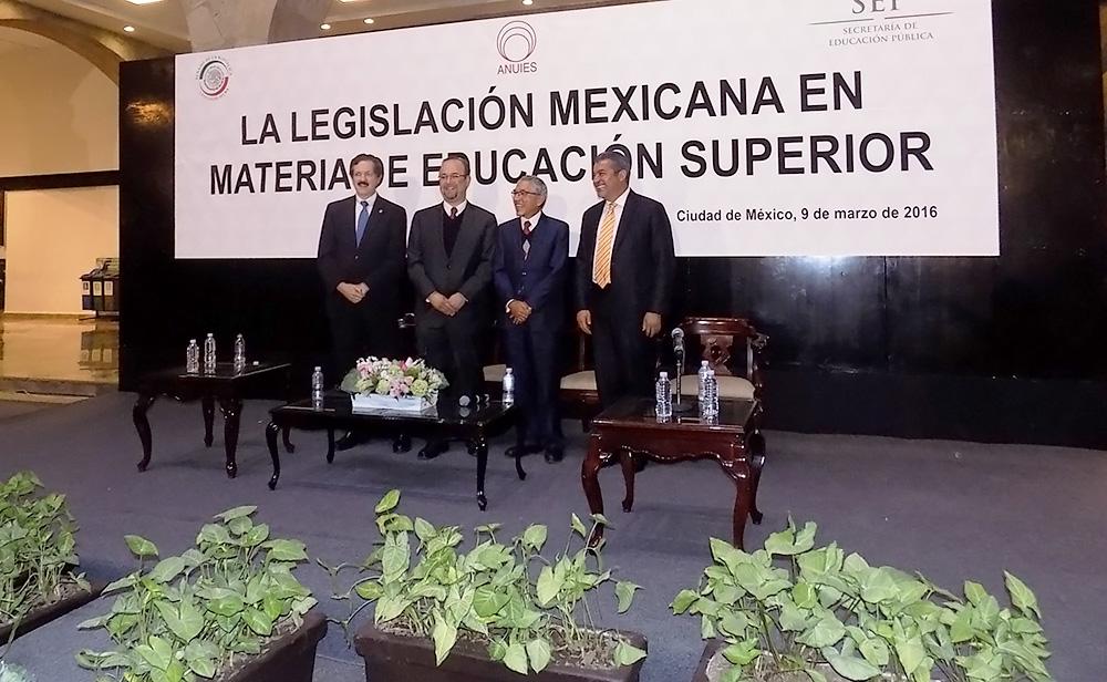 Se requería un diagnóstico del marco jurídico de la educación de ese nivel: Jara Guerrero