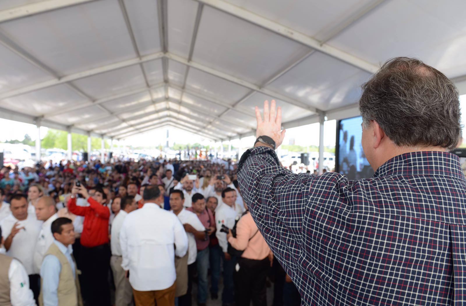 Entrevista ofrecida por el secretario José Antonio Meade en el marco de su visita de trabajo en Reynosa, Tamaulipas