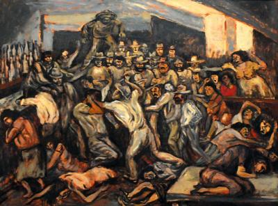 Jos clemente orozco el artista que a trav s de su obra for El hombre de fuego mural de jose clemente orozco