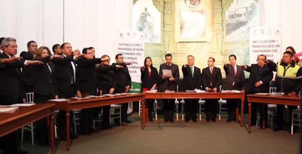 PGR participa en la instalación del Consejo Municipal de Seguridad en Toluca