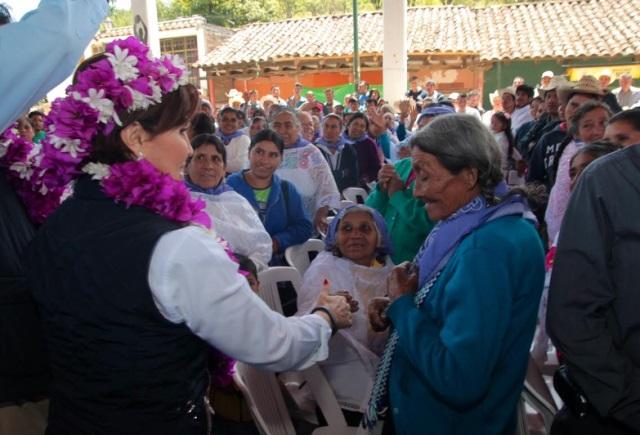 Toma de Protesta de Comités Comunitarios de la Cruzada Nacional Contra el Hambre en San Miguel Tenango, Pue.