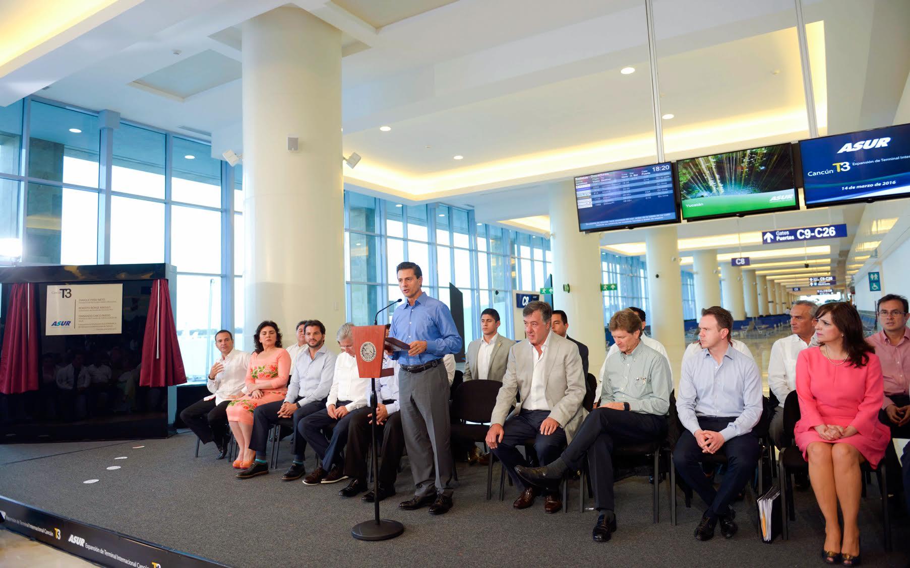 El Primer Mandatario subrayó que esta nueva Terminal forma parte del proceso transformador que el Gobierno de la República viene impulsando.