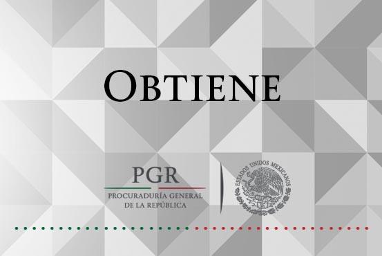 Obtiene PGR vinculación a proceso contra una persona por transportar más de cinco kilos de heroína. Comunicado 379/16