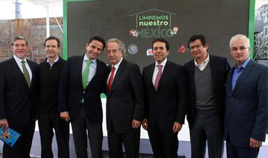 Participación en Campaña Limpiemos Nuestro México 2015.