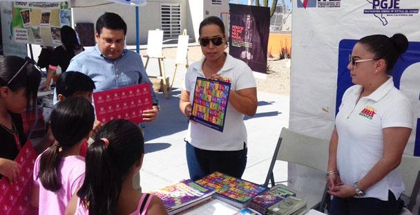 """PGR participa en el evento denominado """"Tianguis Interinstitucional de Prevención Social de la Violencia y la Delincuencia""""."""