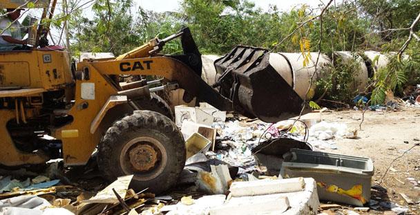 Realiza PGR en Yucatán destrucción de más de 47 mil discos apócrifos.